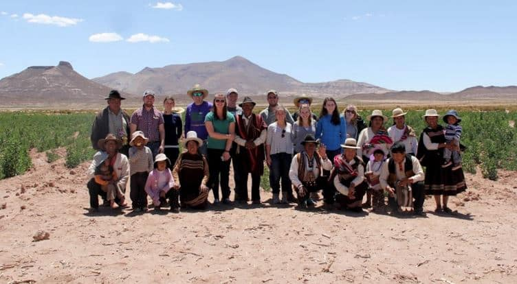 Ag Fellows in Bolivia