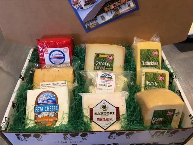 Alp and Dell Cheese Dairy Carrie box