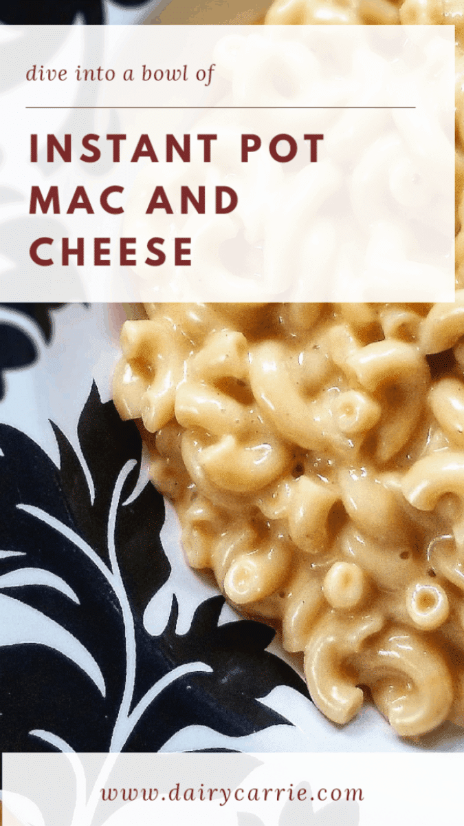 The Best Instant Pot Mac and Cheese.