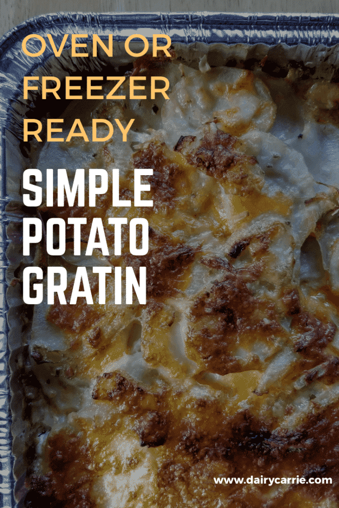Easy Cheesy Potato Gratin